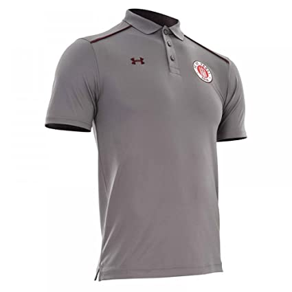 Under Armour 2017-2018 St Pauli Team Polo Shirt (Graphite)