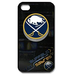 NHL Buffalo Sabres iPhone 4/4s hard plastic cases for hockey fans-designed by sportscoverit store by kobestar