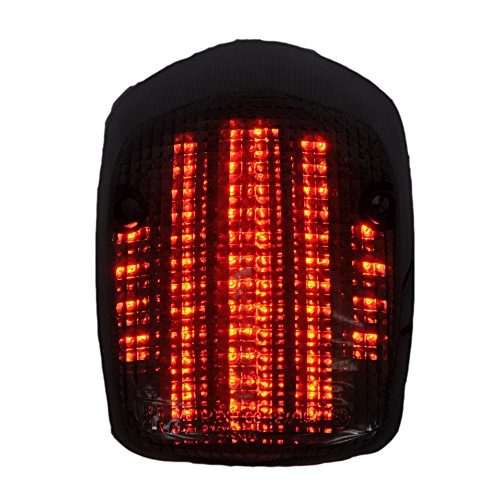 Moto Smoke Integrated Tail light for HONDA 00-07 SABRE 1100, 98-02 AERO, ACE 750, DELUXE 750, VALKYRIE Review