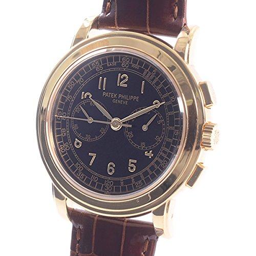 [パテックフィリップ]PATEK PHILIPPE 腕時計 コンプリケーテッドウォッチ クロノグラフ 5070J-001 中古[1302196]ブラック 付属:修理明細書 アーカイブ B07DXPWXQJ