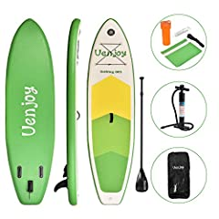 Non-slip handle design ensures stable running, non-slip deck is suitable for beginners and can reduce accidents       It can be quickly inflated or deflated, with a portable backpack for easy transport and storage.It is so convenient f...