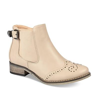 31ae84e3041d4 Bottines BLANC LOVELY SKULL Fille Chaussea  Amazon.fr  Chaussures et ...