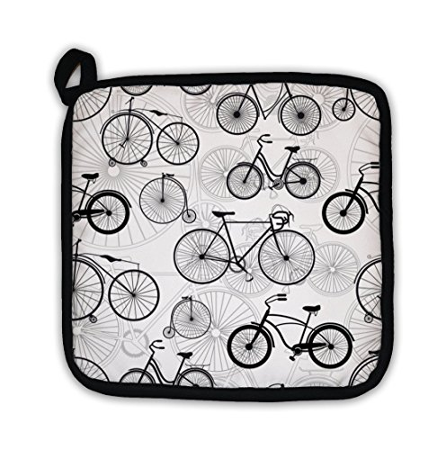 - Gear New Pot Holder, Bicycle Pattern, GN24972