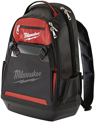 Milwaukee 48-22-8200 1680 Denier 35 Pocket Jobsite Backpack w/ Laptop Sleeve and Molded Plastic Base by Milwaukee