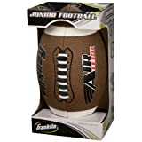 Franklin Sports Air Tech Composite Leather Football, Junior