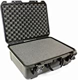Williams Sound CCS 042 Large Heavy-Duty Carry Case with Pluck Foam For receiver/transmitter/accessory storage, Holds up to 48 PPA receivers