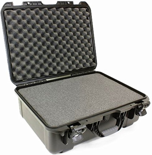 Williams Sound CCS 042 Large Heavy-Duty Carry Case with Pluck Foam For receiver/transmitter/accessory storage, Holds up to 48 PPA receivers by Williams Sound