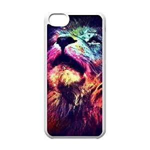 Lion Unique Fashion Printing Phone Case for Iphone 5C,personalized cover case ygtg541265 by icecream design