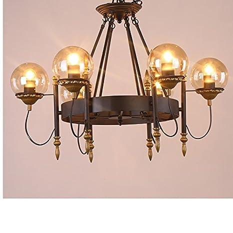 Lámpara colgante INDUSTRIAL Vintage Hierro Estilo Modernista ...