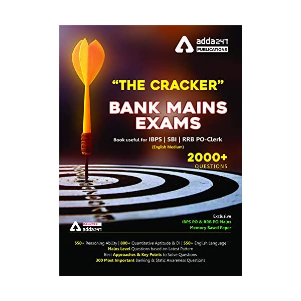 The Cracker Mains Exams Book (English Printed Edition) Paperback – 1 January 2018 1