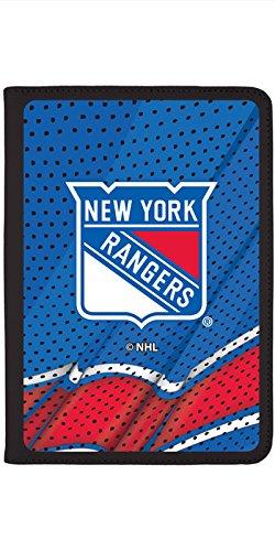 New York Rangers Home Jersey Design on Black iPad Air 2 Swivel Stand Case