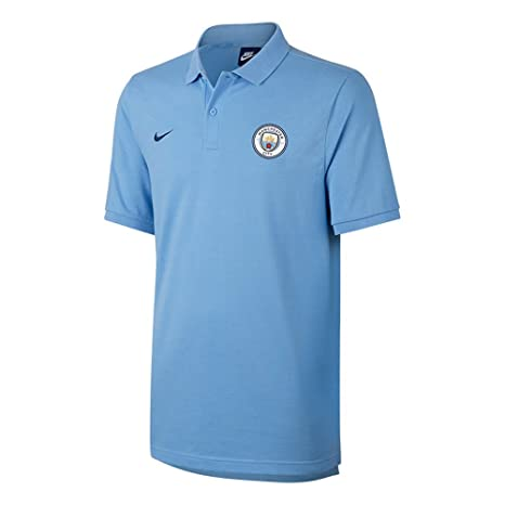 043f68fc98a Image Unavailable. Image not available for. Color  Nike 2017-2018 Man City  Matchup Core Polo ...