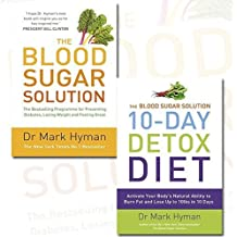 The Blood Sugar Solution and 10-Day Detox Diet 2 Books Bundle Mark Hyman Collection