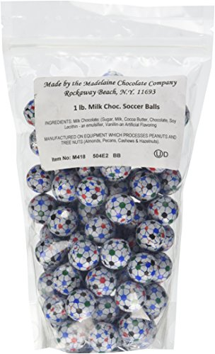 Chocolate Foil Soccer Balls (Soccer Chocolate)