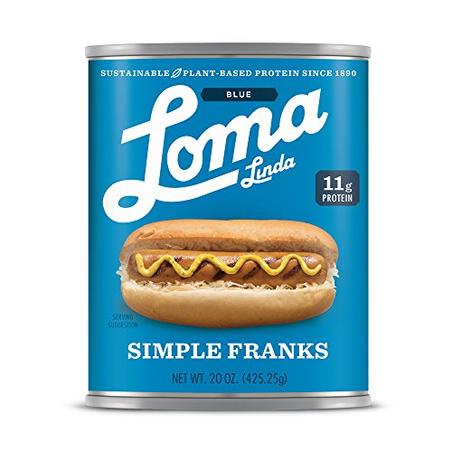 Loma Blue Simple Franks, 20 Ounce (Pack of 12) by Loma Blue