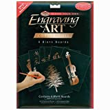 Royal Brush Foil Engraving Art Blank Boards, 5 by 7-Inch, Copper, 6-Pack