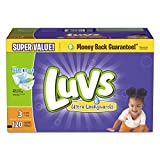 Health & Personal Care : Luvs Ultra Leakguards Diapers, Size 3, 120 Count