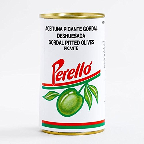 Brindisa Perello Gordal Pitted Olives 150g - Pack of 6