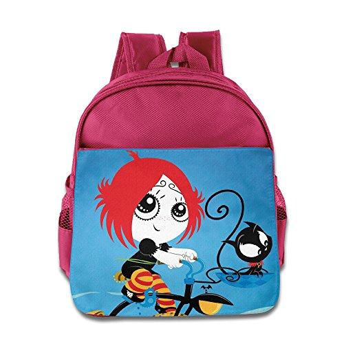 Ruby Gloom And Doom Kitty Kids School Backpack Bag