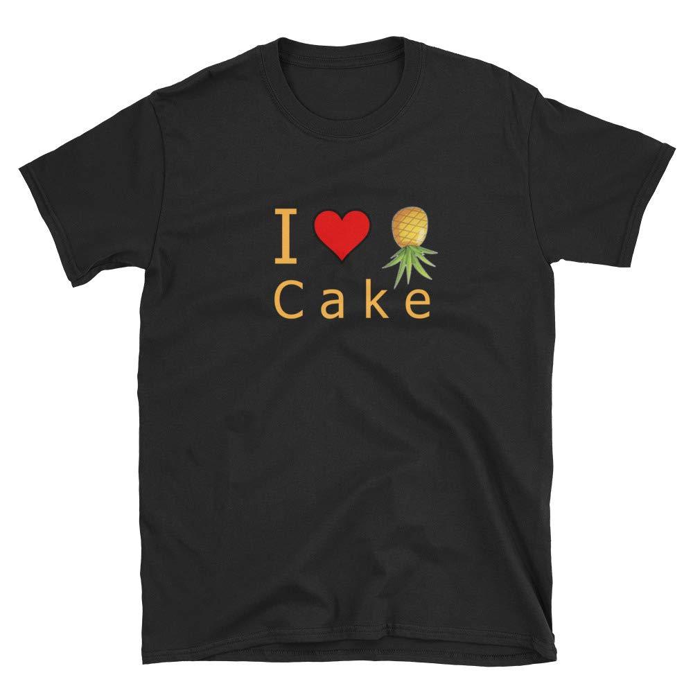 I Love Pineapple Cake Swingers Short-Sleeve Unisex T-Shirt