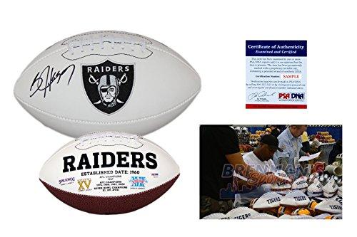 (Bo Jackson Signed Football - PSA/DNA - Oakland Raiders Autographed Ball)