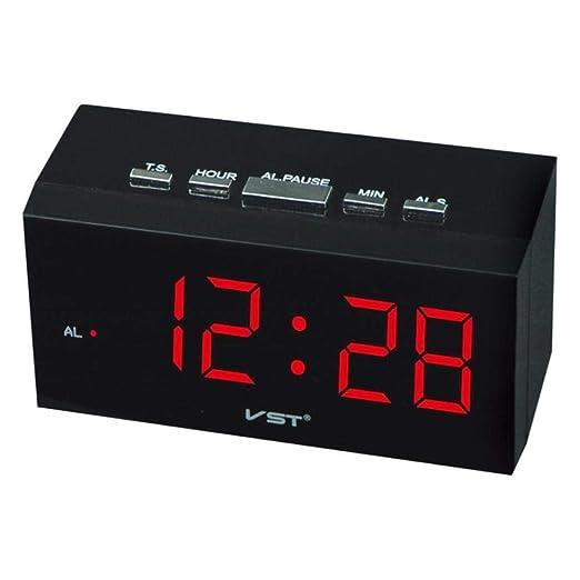 FeiKe Sentir Nuevo! Reloj Despertador de Mesa Digital EU Enchufe ...