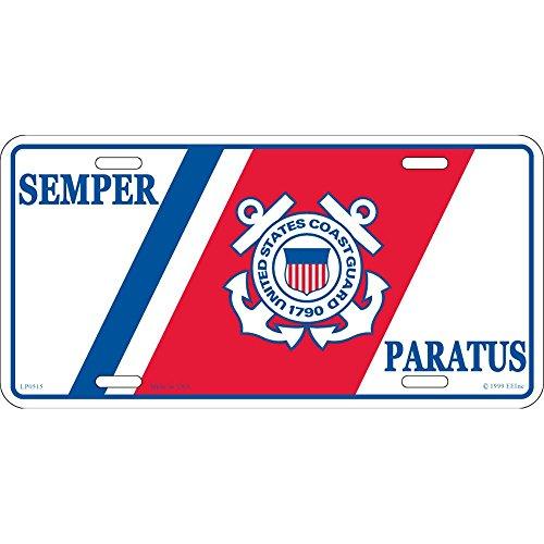 - U.S. Coast Guard Semper Paratus License Plate