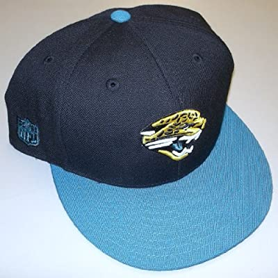 Jacksonville Jaguars Structured Fitted Reebok Hat Size 7 7/8