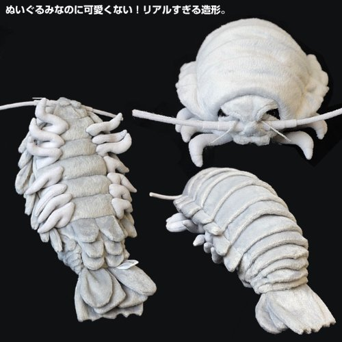 Sea Creature Giant Isopod Realistic Stuffed Plush Doll L