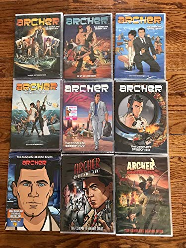 archer season 4 dvd - 9