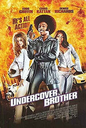 ORIGINAL MOVIE POSTER UNDERCOVER BROTHER 2002 ROLLED