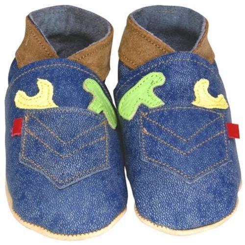 Daisy Roots Outil poche Denim Chaussures bébé (Taille 0à 6mois)