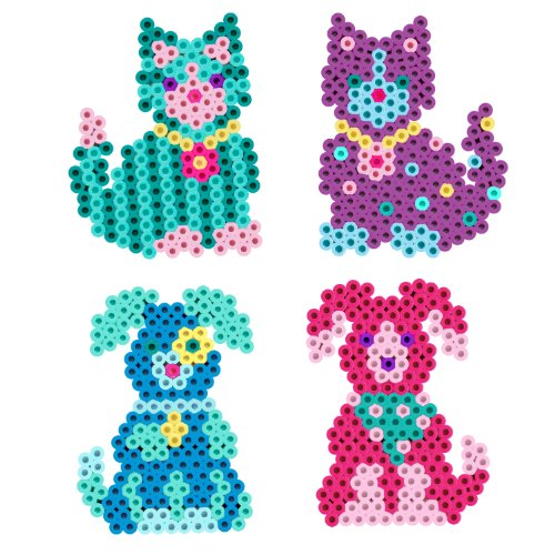 Perler Beads Kitties 'n Puppies Fused Bead -