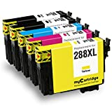 #9: MYCARTRIDGE 288XL Ink Cartridges Remanufactured for Epson 288 288XL for use in Epson Expression XP-330 XP-340 XP-430 XP-434 XP-440 XP-446 Printers (5 Pack)