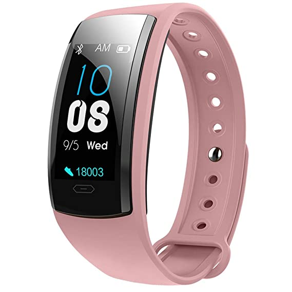 Amazon.com: Smart Monitor Heart Rate Bracelet Color Bracelet ...