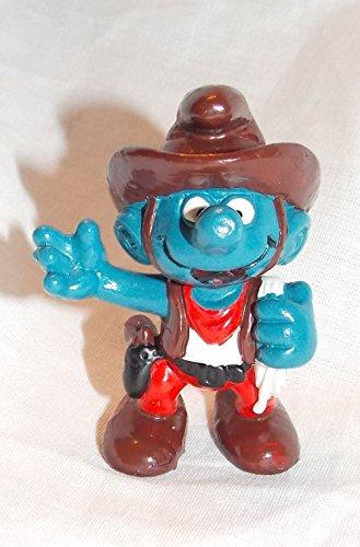 (1981 Vintage Cowboy Smurf 2