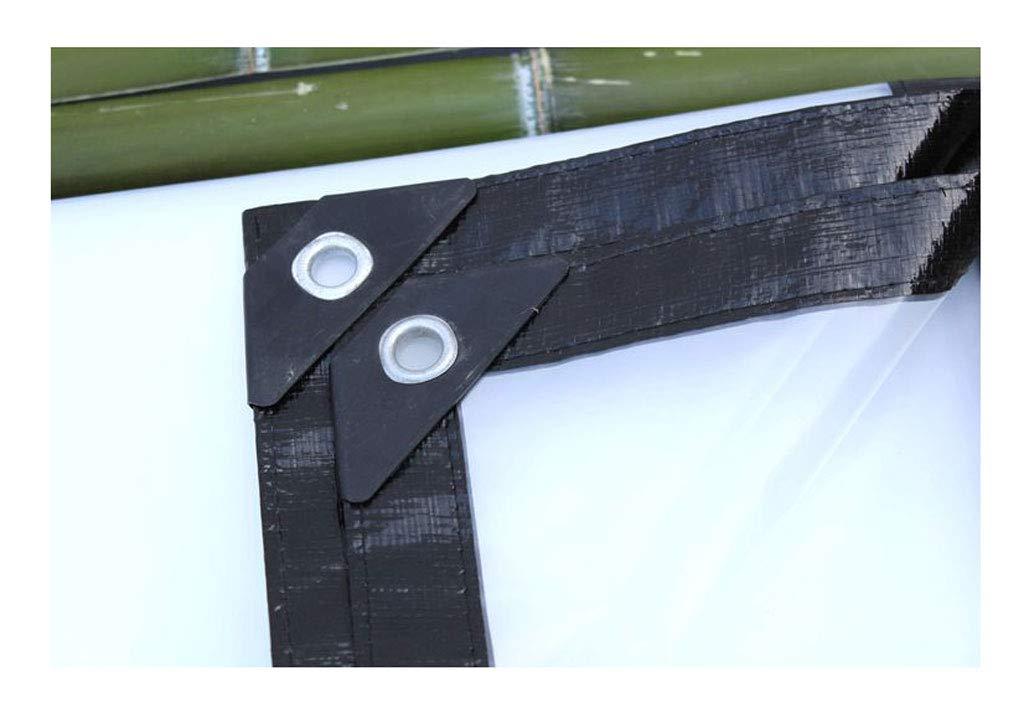 QLLYB Lona Transparente Gruesa Paño Anti-Dosel Paño de plástico agrícola Protección de la Planta Paño de Aislamiento de Ventana anticongelante, ...