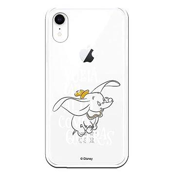 Carcasa Oficial Disney Dumbo, Vuela Tan Alto como Puedas para iPhone XR - La Casa de Las Carcasas