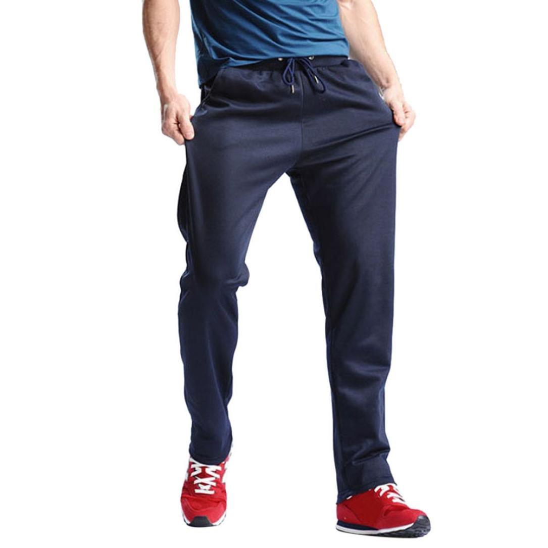 Pantalons de Sport pour Homme,Covermason Hommes sport pantalons hip hop jogging pantalons Jogging Bas de Survêtement Sweat Pants Sport Loose grande taille M-4XL