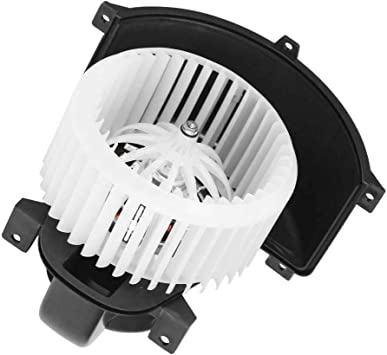 New Heater Blower Motor w// Cage Front For 2004-10 Audi Q7 Volkswagen VW Touareg