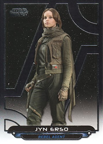 2017 Topps Star Wars Galactic Files Reborn Trading Card #RO-1 Jyn Erso by Topps Co.