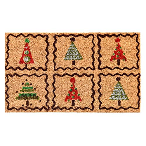 Home & More 121051729 Christmas Trees Doormat, 17