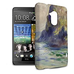 Phone Case For HTC One Max (T6) - Renoir Guernsey Art Painting Wrap-Around Slim