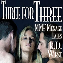 Three for Three: A Trio of Friendly MMF Menage Tales... Plus! (Friendly Menage)