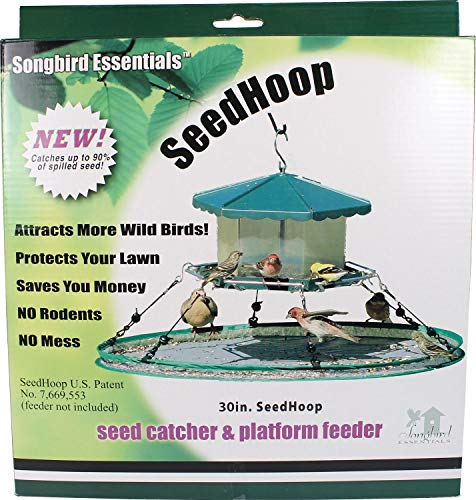 (Innovations America Songbird Essentials 30 in Universal Seed Hoop for Bird Feeders)