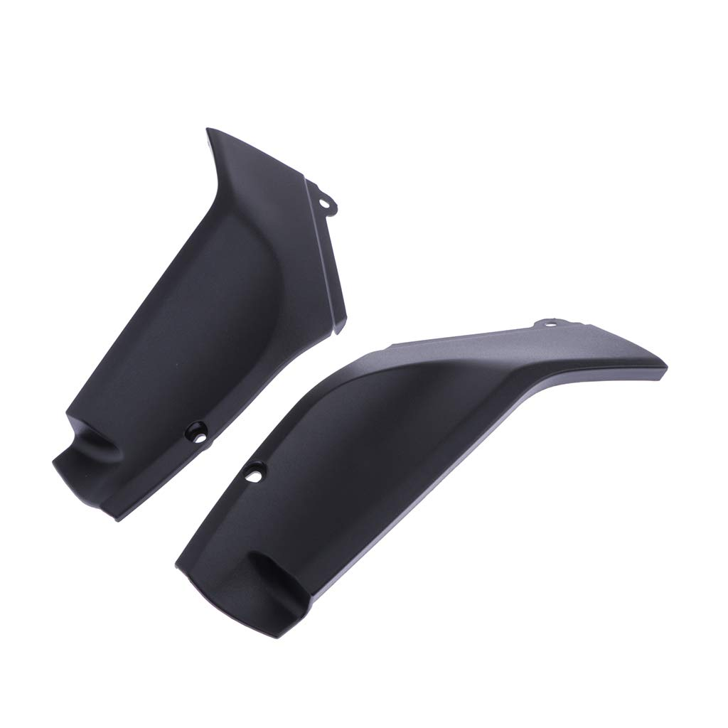 Black perfk Tank Side Panel Cover Motorcycle Left Right Gas Tank Fairing Guard Protector for Yamaha YZF R1 1998-2001