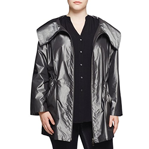 (Marina Rinaldi Women's Tabula Anorak Jacket 22W / 31 Metallic)