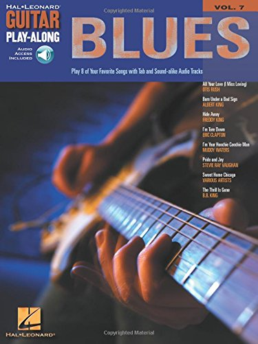 Blues: Guitar Play-Along Volume 7