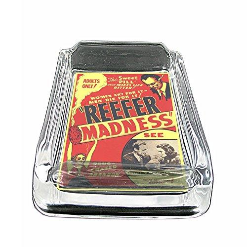 glass ashtray vintage - 1