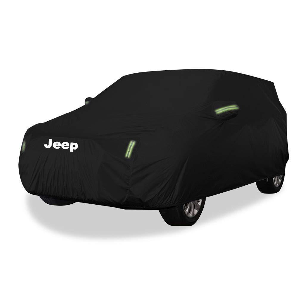 la Neige R/ésistante aux Rayures Protection Contre Le Soleil Yapin Housse de Protection pour v/éhicule Tout-Terrain Jeep Wrangler la Pluie